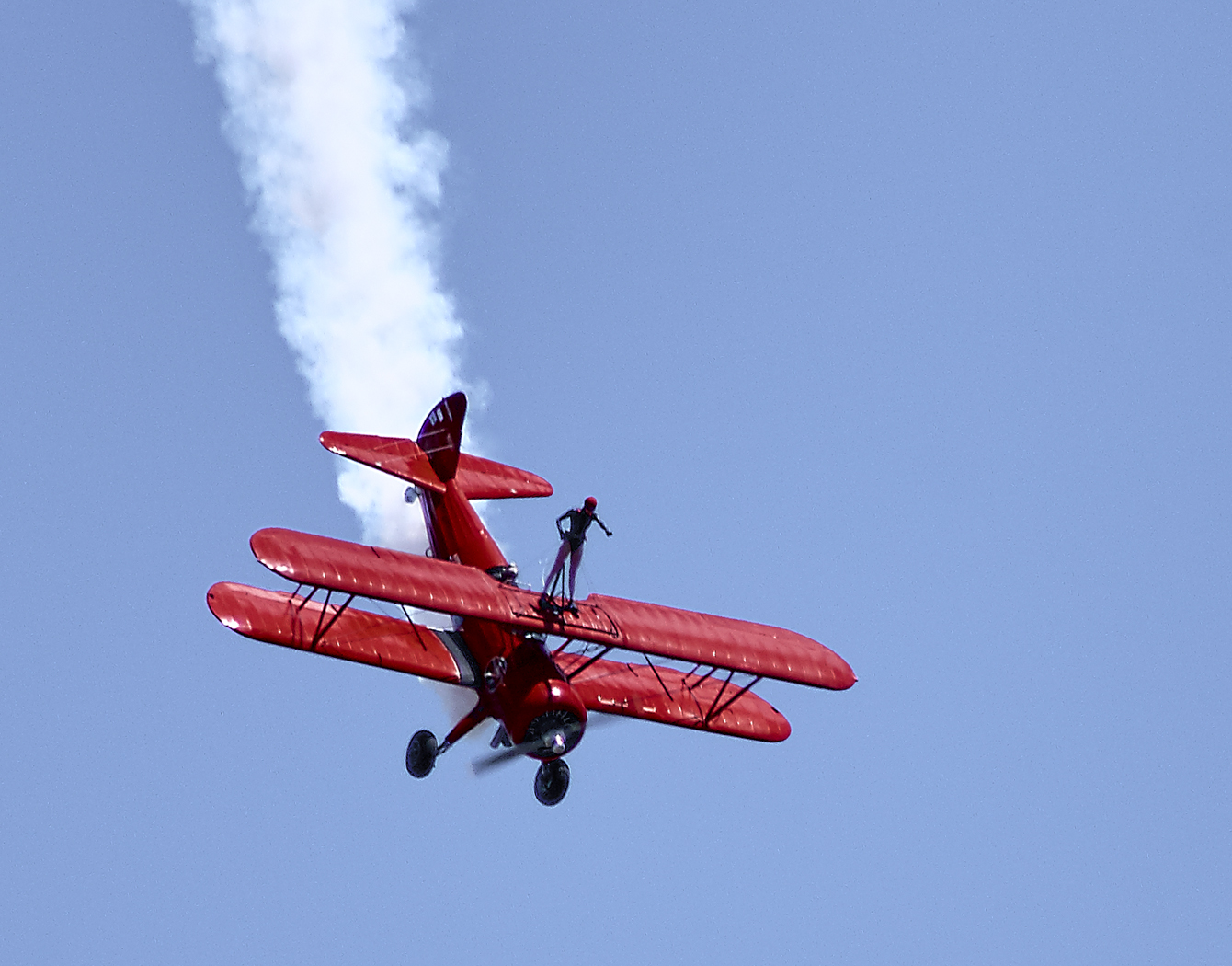 Carol Pilon - Wingwalker